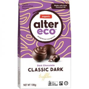 Chocolate (Organic) - Dark Truffles Classic - ALTER ECO - 108g