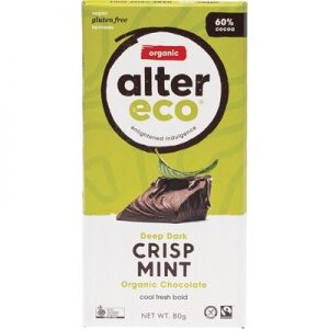 Organic Dark Mint Chocolate - ALTER ECO - 80g