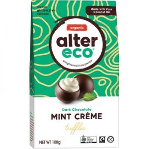 Organic Chocolate - Mint Truffles - ALTER ECO - 108g