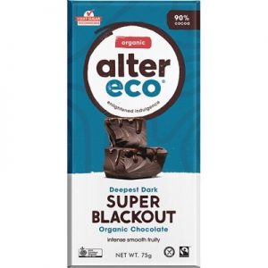 Dark Super Blackout Chocolate - Organic - ALTER ECO - 75g