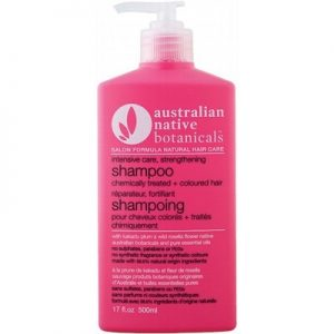 Coloured Hair Strengthening Shampoo - Chemical Treated - AUSTRALIAN NATIVE BOTANICALS Shampoo - 500ml