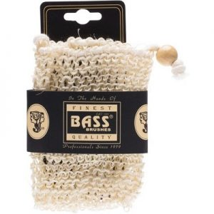 Sisal Soap Holder Pouch - With Drawstring - Firm - BASS BODY CARE