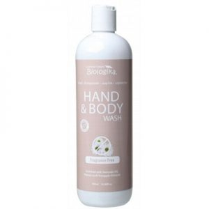 Fragrance Free Hand & Body Wash - BIOLOGIKA - 500ml