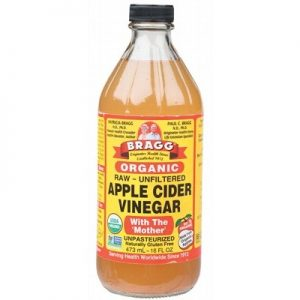 Unpasteurised Apple Cider Vinegar - Unfiltered - BRAGG - 473ml