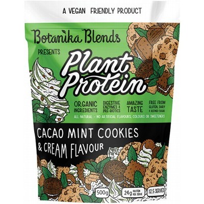Cacao Mint Cookies & Cream - BOTANIKA BLENDS Plant Protein - 500 g