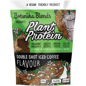 Double Shot Plant Protein - Iced Coffee - BOTANIKA BLENDS - 500g