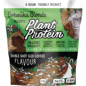 Iced Coffee Plant Protein - Double Shot - BOTANIKA BLENDS - 1kg