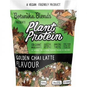 Plant Protein - Golden Chai Latte - BOTANIKA BLENDS - 500g