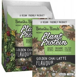 Best Plant Protein - Golden Chai Latte - BOTANIKA BLENDS - 40g Sachet