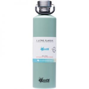 Pistachio Stainless Steel Bottle - CHEEKI - 1L