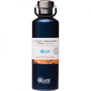 Insulated Ocean Steel Bottle - Stainless Steel Bottle - CHEEKI - 600ml