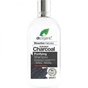Activated Charcoal Shampoo - DR ORGANIC - 265ml