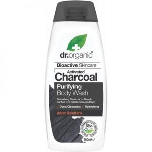 Activated Charcoal Body Wash - DR ORGANIC - 250ml