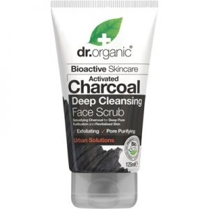 Activated Charcoal Face Scrub - DR ORGANIC - 125ml