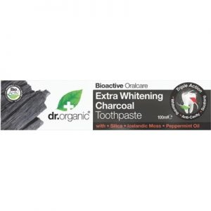 Best Toothpaste - Activated Charcoal - DR ORGANIC - 100ml