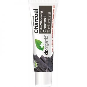 Charcoal Travel Size Toothpaste - Activated Charcoal - DR ORGANIC - 20ml