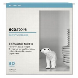 Fragrance Free Dishwasher Tablets - ECOSTORE - 30 tabs