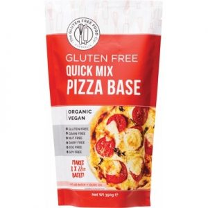 Quick Pizza Base Mix - THE GLUTEN FREE FOOD CO - 350g
