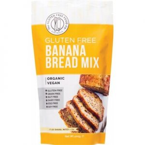 Best Banana Bread Mix - THE GLUTEN FREE FOOD CO - 400g