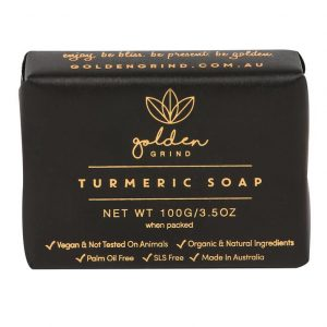All Natural Turmeric Soap - GOLDEN GRIND