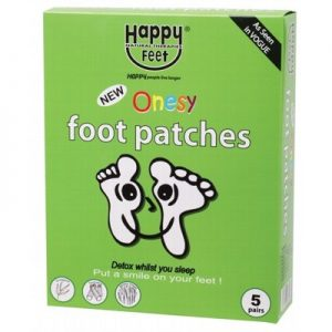 HAPPY FEET Foot Patches - Pack Of 5 Pairs