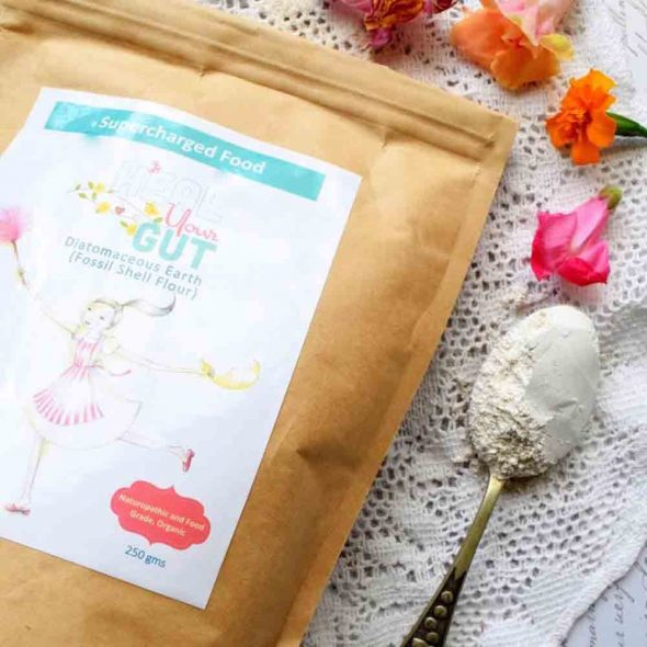 Love Your Gut Powder - Diatomaceous Earth - SUPERCHARGED FOOD -250g