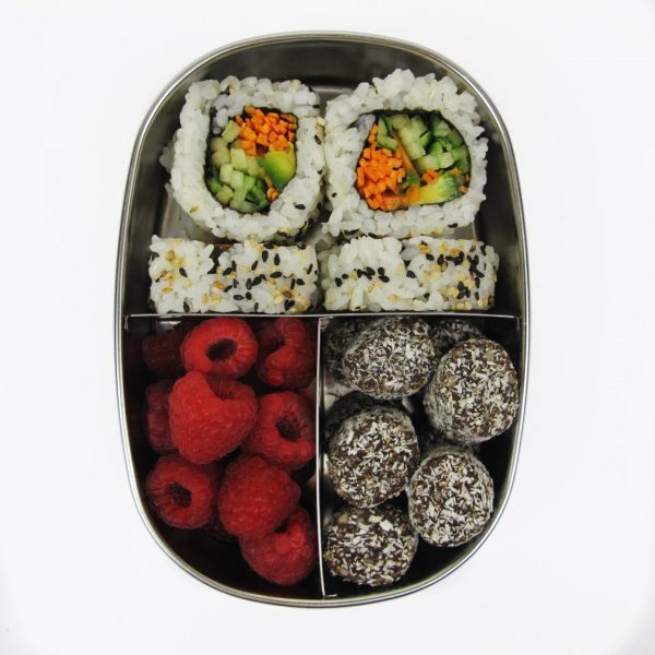 Stainless Steel Snack Box - 3 Compartments - EVER ECO