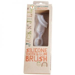 Silicone Tooth & Gum Brush - JACK N' JILL