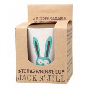 Bunny Storage & Rinse Cup - (Biodegradable Cup) - JACK N' JILL