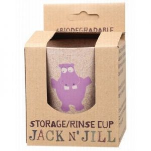 Storage & Rinse Hippo Cup - Biodegradable - JACK N' JILL