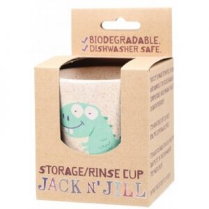 Dino Storage & Rinse Cup - (Biodegradable Cup) - JACK N' JILL