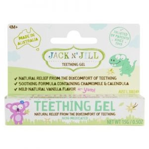 Teething Gel - 4 Months + - JACK N' JILL - 15g