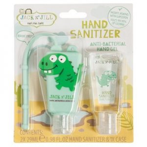 Dino Hand Sanitizer - Holder - JACK N' JILL - 29ml