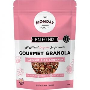 Hazelnut, Fig & Cardamom - Paleo Granola - THE MONDAY FOOD CO. 300g