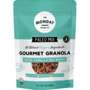 Pecan & Vanilla Inca Berries - Paleo Granola - THE MONDAY FOOD CO. 300g