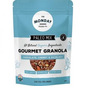 Chocolate Cherry & Hazelnut Granola - THE MONDAY FOOD CO. 300g
