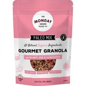 Paleo Granola - Hazelnut, Fig & Cardamom - THE MONDAY FOOD CO. 800g