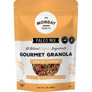 Honeyed Cashews Paleo Granola - THE MONDAY FOOD CO. 300g