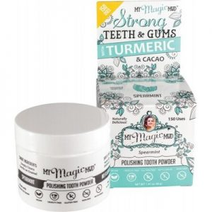 Polishing Tooth Powder - Spearmint - MY MAGIC MUD - 40g