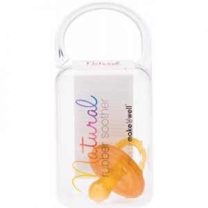 Soother - Small Rounded (0 - 3 Mths) - NATURAL RUBBER SOOTHERS