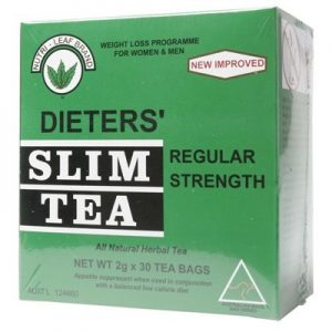 Best Herbal Slim Tea - Regular - NUTRI-LEAF - 30 bags