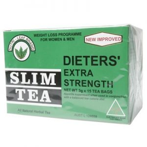 Herbal Slim Tea Bags - Extra Strength - NUTRI-LEAF -15 bags