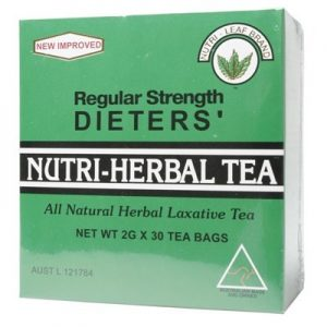 Dieter's Herbal Tea Bags - Regular - NUTRI-LEAF - Regular 30 bags