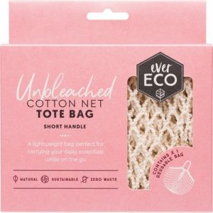 Short Handle Cotton Bag - EVER ECO Tote Bag - Cotton Net