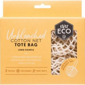 Long Handle Cotton Bag - EVER ECO Tote Bag - Cotton Net