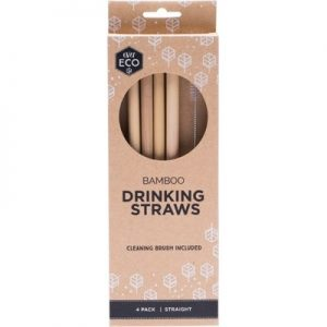 Sustainable Reusable Bamboo Straws - EVER ECO