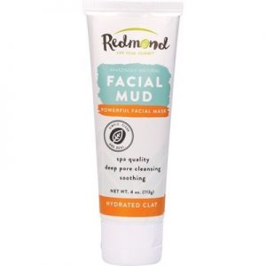 Bentonite Clay Facial Mud - REDMOND CLAY Facial Mud - 113g