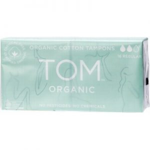 Organic Tampons for Regular Use - Regular x 16 - TOM ORGANIC