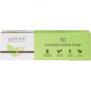 Biodegradable Compostable Nappy Bag x 50 bags - WOTNOT