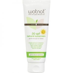 Natural Oils sunscreen - WOTNOT Sunscreen SPF 30+ 100g